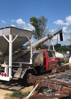 1989 GMC One Ton Auger Truck