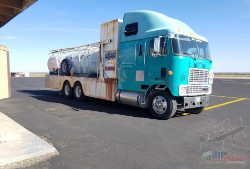 1995 International Water Fuel/Support Truck