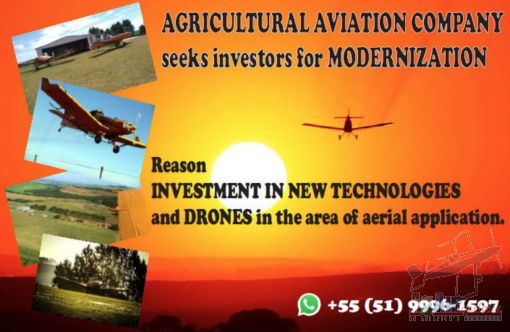 AGRICULTURAL AVIATION COMPANY Seeks Investor for MODERNIZATION.