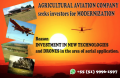AGRICULTURAL AVIATION COMPANY Seeks Investor for MODERNIZATION.