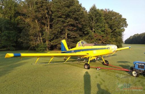 2010 AT-602 Airframe & Prop