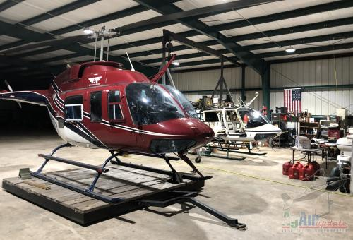 Bell 206 Spray Helicopters For Sale or Lease!
