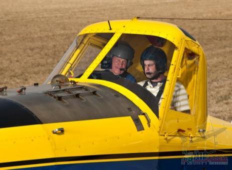 Pilot Looking For Corn Run
